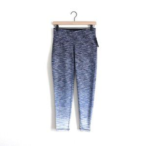 Ideology Space-Dyed Ombre Mid Rise Ankle Leggings